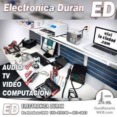 Electrónica Durán. TV. LCD. Audio. Video. PC. Computadoras. Notebooks. Tablets.  🖥️💻📺  Electrónica. Servicio Técnico Electrónico   Teléfonos: 155-970146 - 453-3823  Dirección: Bv. Rondeau 3998 - En Rosario Zona Norte https://www.facebook.com/290335534659553/photos/a.290837614609345.1073741828.290335534659553/577329035960200/?type=3
