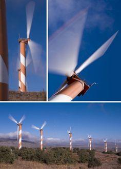 Fan-Tastic! 10 Cool Colorful Wind Turbine Designs