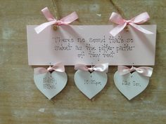44 Best Personalised Christening Baby Gifts Handmade Wooden Signs