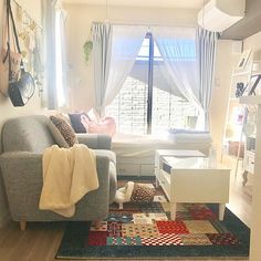 Japan Apartment, Studio Apartment, Apartment Ideas, Cute House, Sewing Rooms, House Projects, Ikea, Decor Ideas, Houses