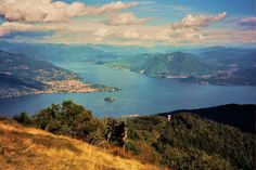 Lake Maggiore from Mottarone <3