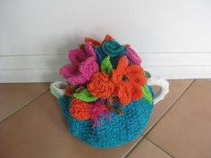 Ravelry: ColourJanisColour's Flowers 'n more Flowers