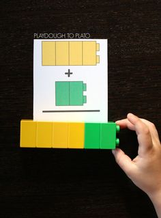 Free LEGO Addition Cards. What a great addition game or math center! Fun hands on way to work on math with kindergarten and first grade!