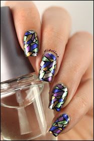 Stained glass nails
