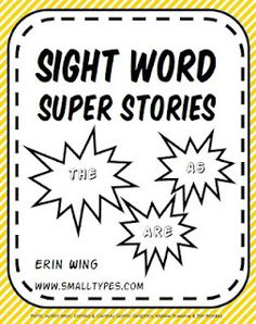 Classroom Freebies: Search results for sight words