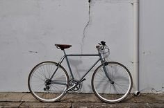 My grey lovely #bicycle