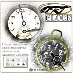 Art Clock by ~Diamara on deviantART