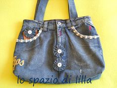 upcycling a jeans... tuto