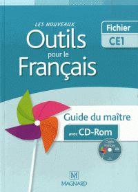 Les nouveaux outils pour le français CE1. Guide du maître  avec 1 Cédérom / Sylvie Aminta http://hip.univ-orleans.fr/ipac20/ipac.jsp?session=144K2QW632830.3310&profile=scd&source=~!la_source&view=subscriptionsummary&uri=full=3100001~!564848~!0&ri=1&aspect=subtab48&menu=search&ipp=25&spp=20&staffonly=&term=Les+nouveaux+outils+pour+le+fran%C3%A7ais+CE1+-+Guide+du+ma%C3%AEtre&index=.GK&uindex=&aspect=subtab48&menu=search&ri=1&limitbox_1=LO01+=+ITIUF+or+SE01+=+ITIUF+or+$LD6+=+RELEC