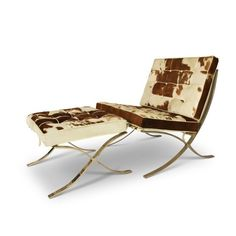 http://emfurn.com @ Barcelona Chair replica cowhide edition. Best-priced Barcelona Chairs! #barcelona sessel