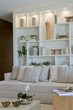 hygee home interiors Living Room Partition Design, Room Partition Designs, Home Living Room, Living Room Designs, Living Room Storage, Home Decor Furniture, Furniture Design, Hygge Home Interiors, Home Office Shelves