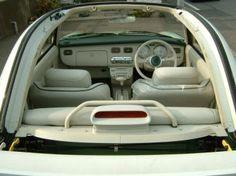 Interior of 91 Nissan Figaro