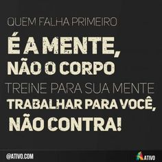 Frase do dia - Ativo Workout Memes, Hard Workout, Life Motivation, Fitness Motivation, Motivational Quotes For Working Out, Inspirational Phrases, Keto, Words Quotes, Cool Words