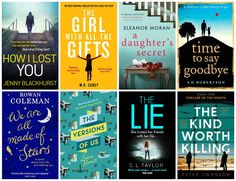 With Love for Books: Eight Books Giveaway