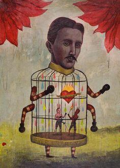 'Salud y Libertad' - Ilustración Sergio Mora
