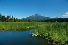 Hosmer Lake, near Mount Bachelor, Oregon