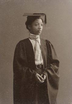 """Alberta Virginia Scott, a resident of Cambridgeport, was the first African American graduate of Radcliffe College. Alberta was born near Richmond, Virginia, the daughter of Smith and Fanny Bunch. Black History Facts, Black History Month, African American Women, African Americans, American Children, Native American, African Diaspora, Black Pride, African History"
