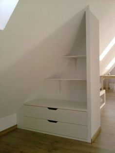 Awesome Cool Tips: Attic Entrance Interior Design attic wardrobe awesome.Attic F. Awesome Cool Tips: Attic Entrance Interior Design attic wardrobe awesome. Attic Renovation, Attic Remodel, Loft Room, Bedroom Loft, Attic Storage, Bedroom Storage, Easy Storage, Storage Ideas, Attic Organization