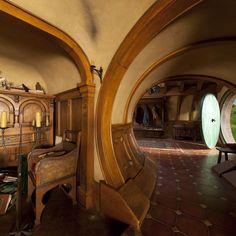 Bilbo's house, Bag End, The Hobbit.