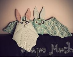 These handmade bats are great x by Shape Moth