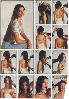 Image Forced Haircut, Crop Hair, 70s Hair, Hair Icon, Super Long Hair, Long Hair Cuts, Fall Hair, Hairdresser, Short Hair Styles
