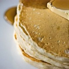 Good Old Fashioned Pancakes Recipe The BEST simple, fluffy pancake recipe I have found!  It is my new go-to recipe!!