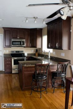 Home Remodel Forum Decor Collection Prepossessing Small Kitchen Design With Peninsula  Pictures Of Finished Kitchen . Review