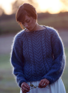 Ravelry: Mohair Cables pattern by Leigh Radford