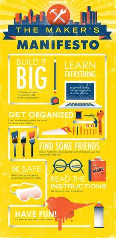 The Maker's Manifesto!
