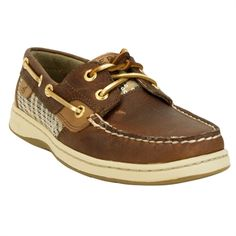 Sperry Top-Sider Bluefish Two-Eye Boat Shoe #VonMaur #Sperry #Tan