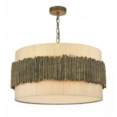 WIL0431 | David Hunt Willow | 4 Light Pendant | Taupe Pendant