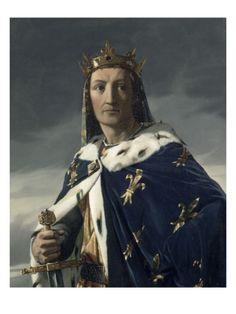 Louis VIII le Lion (05/09/1187 Paris - 08/11/1226 Montpensier) - Fils de Philippe II Auguste - Dynastie des Capétiens