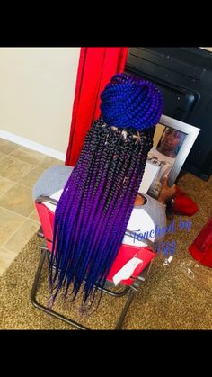Top 60 All the Rage Looks with Long Box Braids - Hairstyles Trends Blonde Box Braids, Braids For Black Hair, Black Girl Braids, Ombre Box Braids, Braided Hairstyles For Black Women, African Braids Hairstyles, Girl Hairstyles, Braid Hairstyles, Hairstyles Pictures