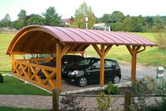 German carport. Like the low slope!