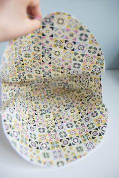 Tuto couture : le sac cabas rond réversible - Les tutos couture de Dodynette