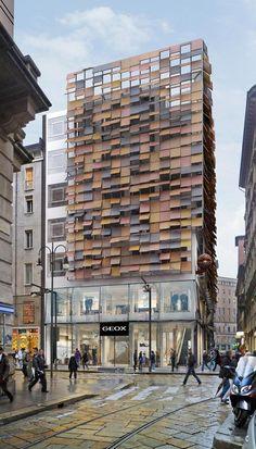 BREATH BUILDING Il Palazzo che Respira, Milano, 2010 - Dante O. Benini & Partners Architects, Dante Benini