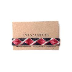 red | black | silver . . . . . #beadworks#beadweave#kalungetnik#handmadebracelet#localbrandindonesia##localbrandif#handmadeindonesia#handwoven#accessoriesindo#gelangetnik#madeinindonesia#armcandy#jualgelang#tenun#etnikindonesia#etnik#weaving#gelang#toscaberries#toscaproject