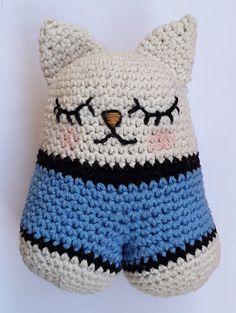 crochet cat (tutorial)