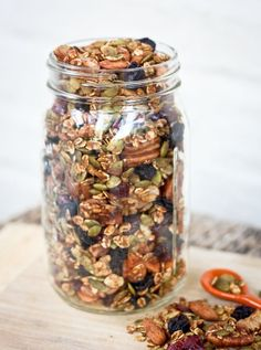 Pumpkin Spice Trail Mix   Eating Bird Food