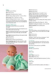Aperçu du fichier Itty bitty knitties - Page - Fichier PDF Love Knitting Patterns, Crochet Barbie Patterns, Baby Booties Knitting Pattern, Knitted Doll Patterns, Knitted Dolls, Baby Knitting, Knitting Dolls Clothes, Crochet Doll Clothes, Doll Clothes Patterns