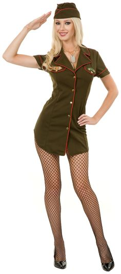 Sexy Army Costume | Adult Halloween costume | Pinterest | Army costume Costumes and Halloween costumes  sc 1 st  Pinterest & Sexy Army Costume | Adult Halloween costume | Pinterest | Army ...