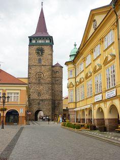 Česko, Jičín - Valdecká brána