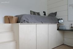 Asuntomessut 2016 - TOP 3 Kohteet | Esmeralda's Small Teen Room, Small Rooms, Studio Apartment Decorating, Apartment Design, Boy Room, Kids Room, Smart Bed, Kids Bedroom Furniture, Under Bed Storage