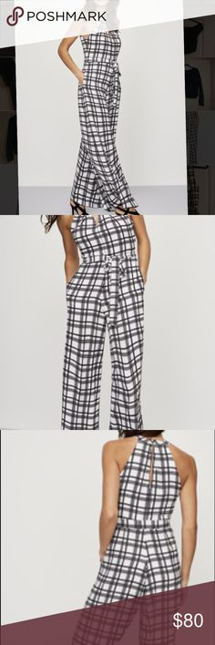 Tall Donna Ricco Jumpsuit New with tags! Super trendy and great for a y'all girl. Purchased from Long Tall Sally! Donna Ricco Dresses