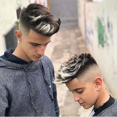 10 Beautiful Male Hairstyles Undercut To Every Angle - Mens Hair Styles Vintage Hairstyles, Hairstyles Haircuts, Haircuts For Men, Hair And Beard Styles, Curly Hair Styles, Mens Hair Colour, Hair Color, Coiffure Hair, Fade Haircut