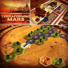 Terraforming Mars, finally got the hang of things and beat the solo game on turn 13, pretty amazing how the engine really accelerates towards the end... the manual is a bit iffy, but the towering stack of 200+ unique action cards are amazing at bringing the engine and theme to life... Pretty fun! #boardgame #tabletopgames #terraformingmars #boardgames #bgg #boardgamegeek