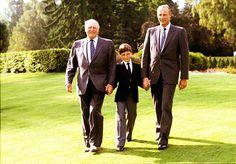 royalbabies: Olav, Haakon and Harald of Norway