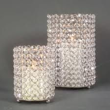 bling wedding centerpieces