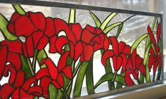 Group of: SunDrenched Stained Glass Design Window Panel by ...