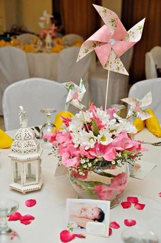 Shabby Chic Cath Kidston Baptismal Celebration ~ Featured Party | Seshalyn's Party Ideas